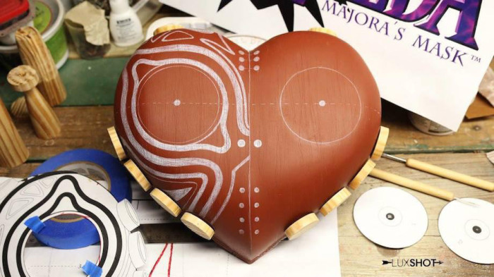 How To Make A Majora's Mask Replica From Legend Of Zelda (34 pics)