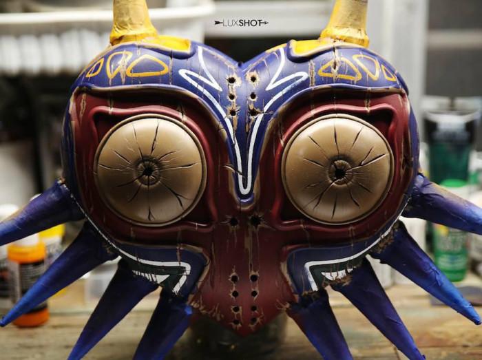 How To Make A Majora's Mask Replica From Legend Of Zelda (34 pics)