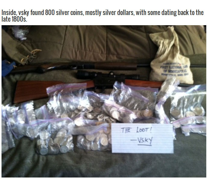 After Cracking Open Their Grandma's Safe They Found Some Serious Loot (7 pics)