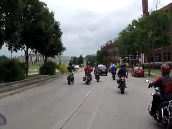 Cops And Bikers