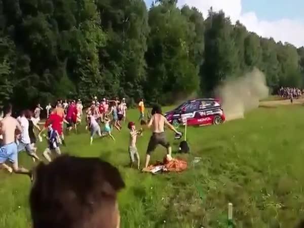 Rally Car Incident