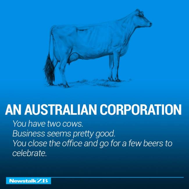 The Structure Of World Economies Explained Using Cows (17 pics)