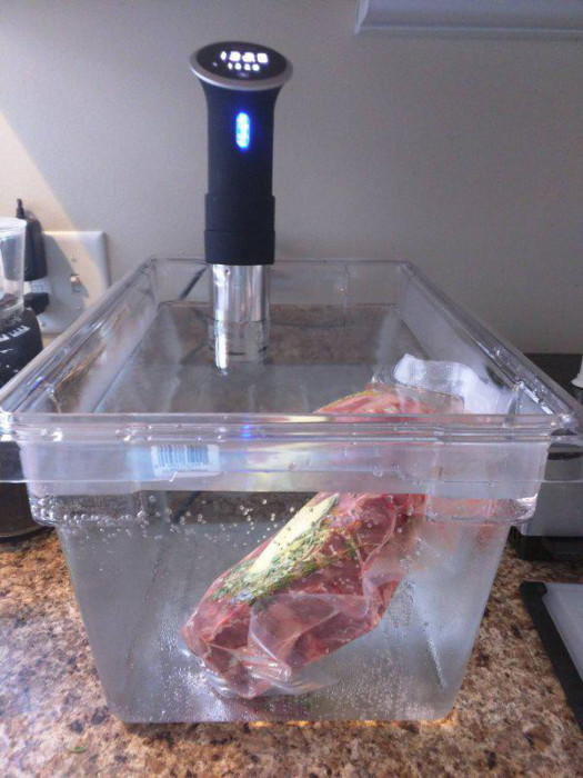 Guy Vacuum Seals His Steak For The First Time (8 pics)
