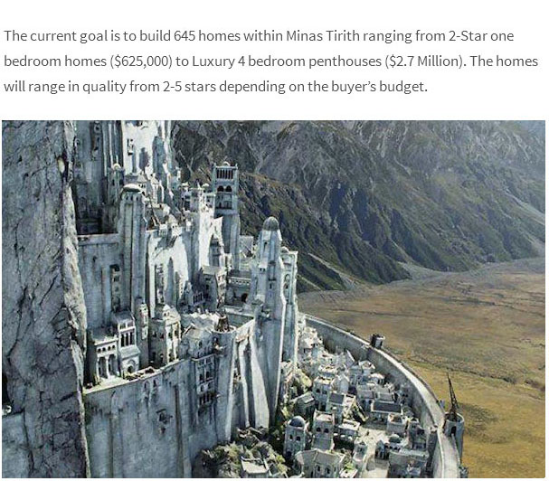 how to build minas tirith in minecraft