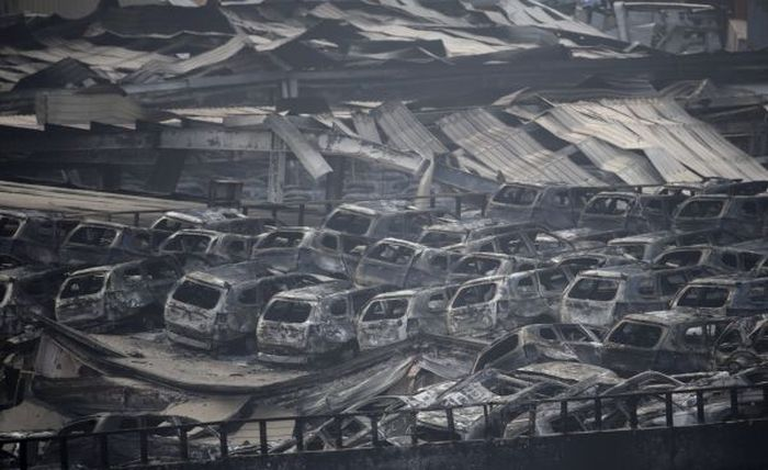 The Chinese City Of Tianjin Will Never Be The Same After This Massive Explosion (41 pics)