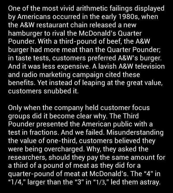 A&W Once Had A Less Expensive Burger Than The 1/4 Pounder, This Is Why It Failed (2 pics)
