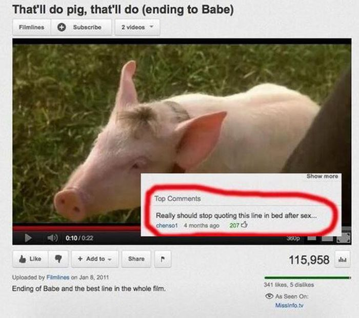 Comments That Waste No Time Getting To The Point (20 pics)