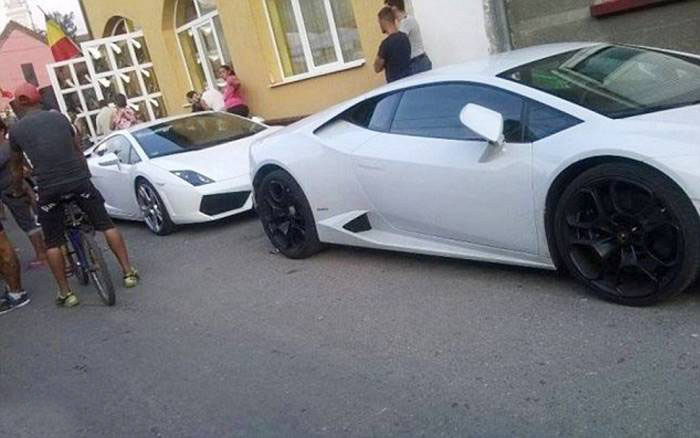 More Than 200 Supercars Showed Up To This Gypsy Wedding (11 pics + video)