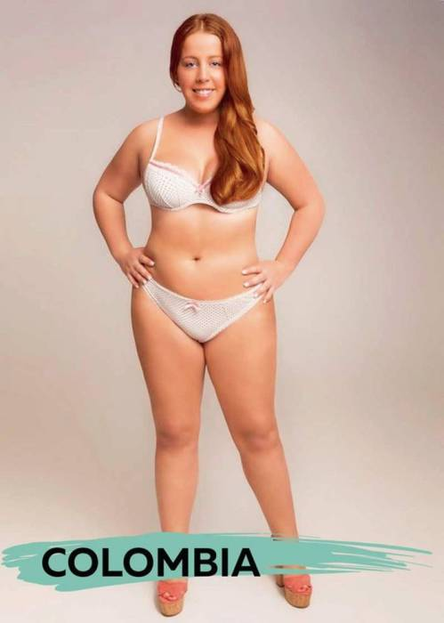 One Photo Shows Off The Beauty Standards From 18 Different Countries (19 pics)