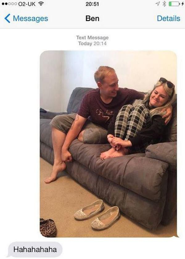 Guy Goes Out Of His Way To Convince His Friend He's Sleeping With His Sister (13 pics)