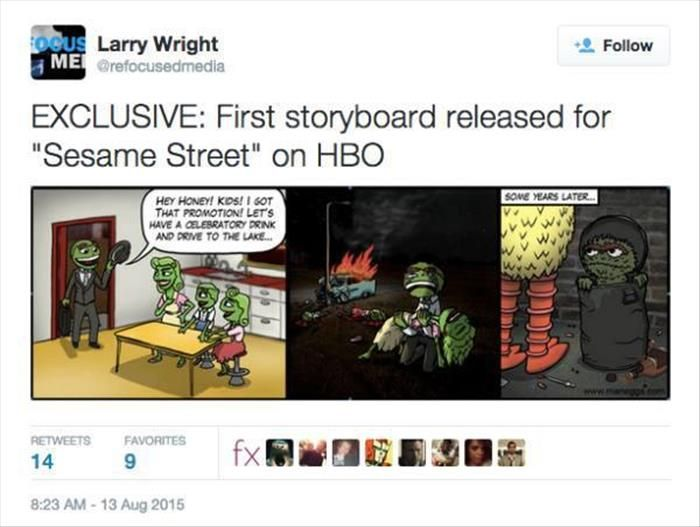 The Internet Had The Perfect Reactions To HBO's Sesame Street Announcement (18 pics)