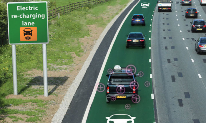 Roads That Will Charge Electric Cars Are Being Tested In The UK (3 pics)