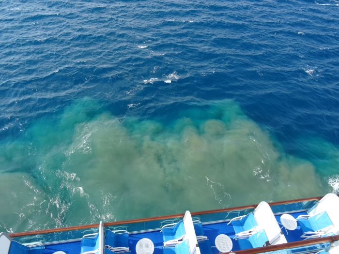 Is How Much Sewage Cruise Ships Dump Into The Ocean Every Year - Cruise ship sewage