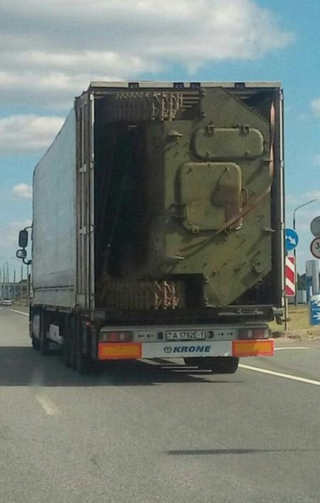 How To Transport A Tank Without Driving It (3 pics)
