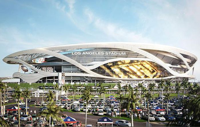 Concept Art Shows What The New NFL Stadium In Los Angeles Could Look Like (4 pics)