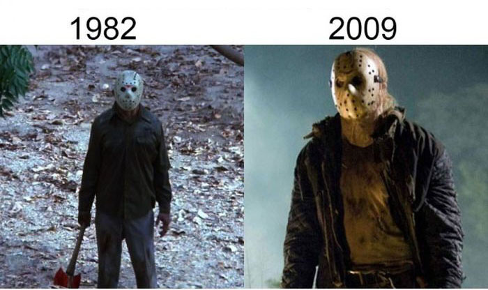 Classic Movie Shots Get Compared To Their Modern Remakes (19 pics)