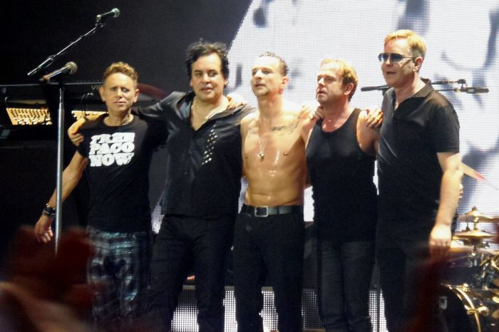 Depeche Mode Back In the Day And Today (2 pics)