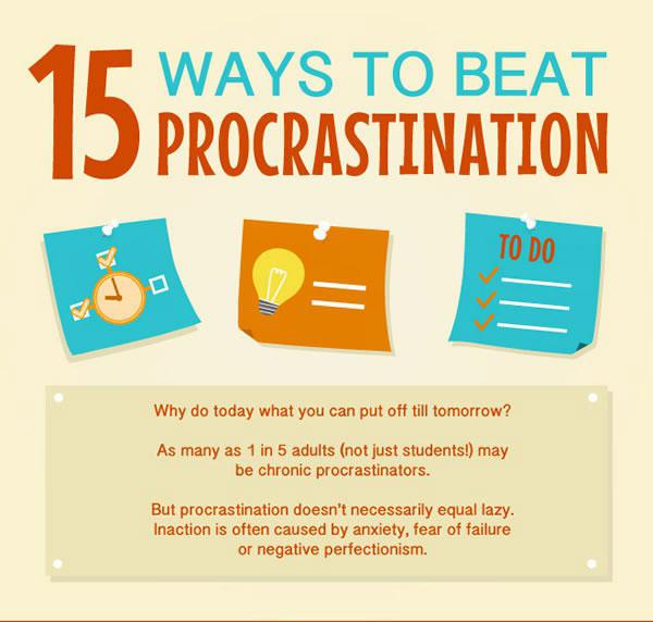 15 Tips To Help You Overcome Procrastination (16 pics)