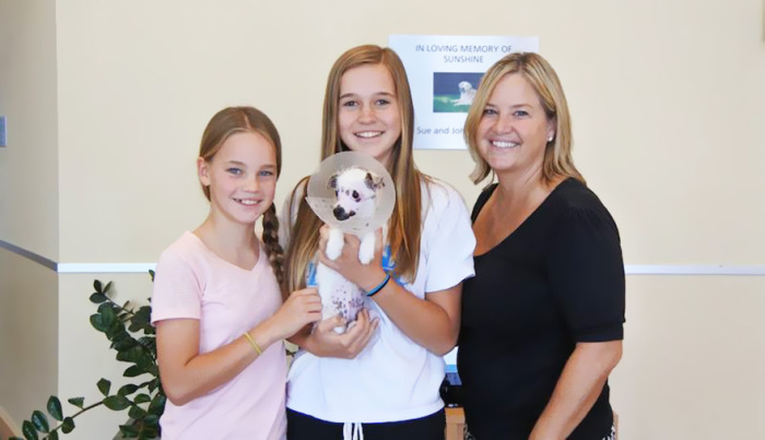 Unique Looking Puppy Gets Adopted By Loving Family (7 pics)