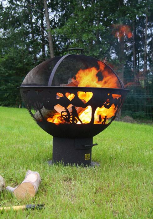 Creative Outdoor Fireplace (18 pics)