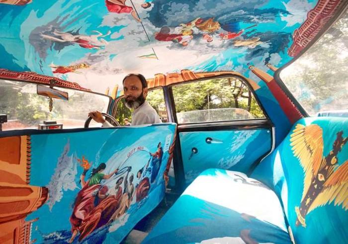 Taxis in Mumbai (25 pics)