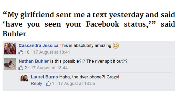 This Guy Lost His Phone In A River But Then Something Strange Started Happening (9 pics)