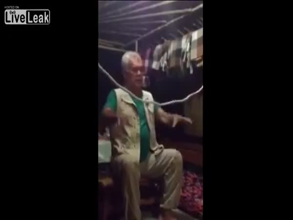 Man Shows A Trick