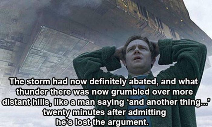Unforgettable Quotes From Hitchhiker's Guide To The Galaxy (15 pics)