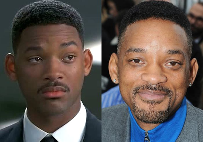 See The Cast Of Men In Black Back In The Day And Today (9 pics)