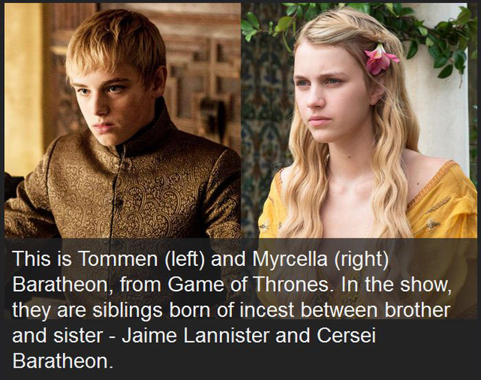 Actors Who Play Siblings On Game Of Thrones Confirmed To Be Dating In Real Life (3 pics)