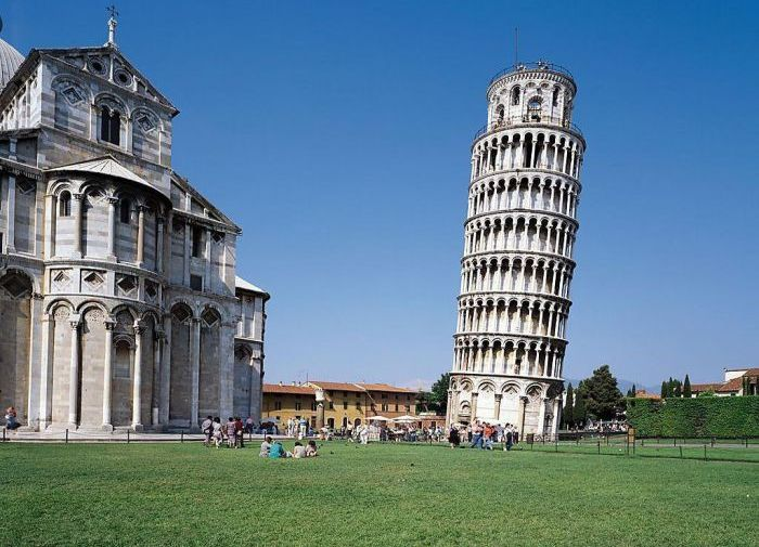 Inside the Tower of Pisa (4 pics)