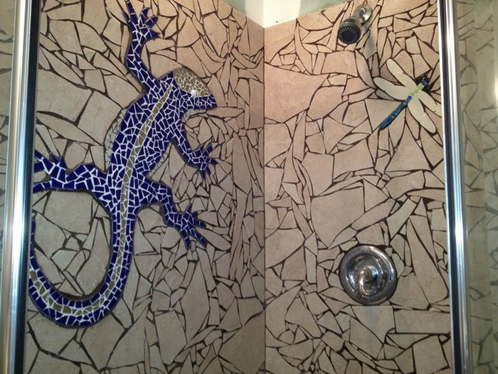 He Broke His Tile Then Put It Back Together To Make Something Awesome (9 pics)