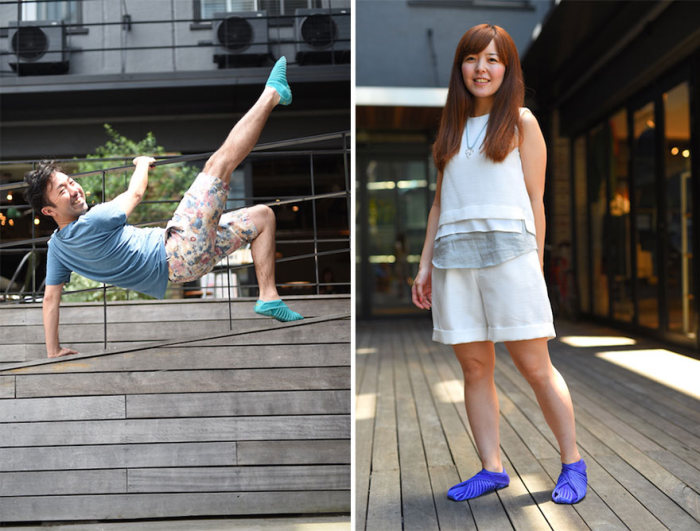 Never Tie Your Shoes Again With These Shoes That Wrap Around Your Feet (6 pics)