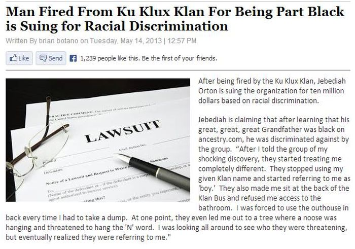 It's So Awesome Seeing The KKK Get Trolled (5 pics + video)