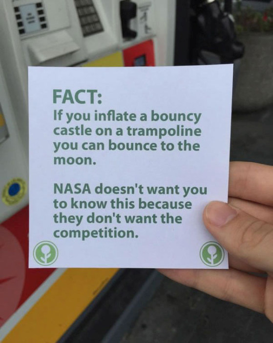 This Guy Filled Up An Empty Box With The Most Hilarious Fun Facts Ever (10 pics)