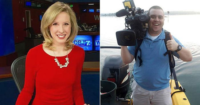Reporter And Cameraman Murdered By Gunman On Live TV (10 pics + 2 videos)