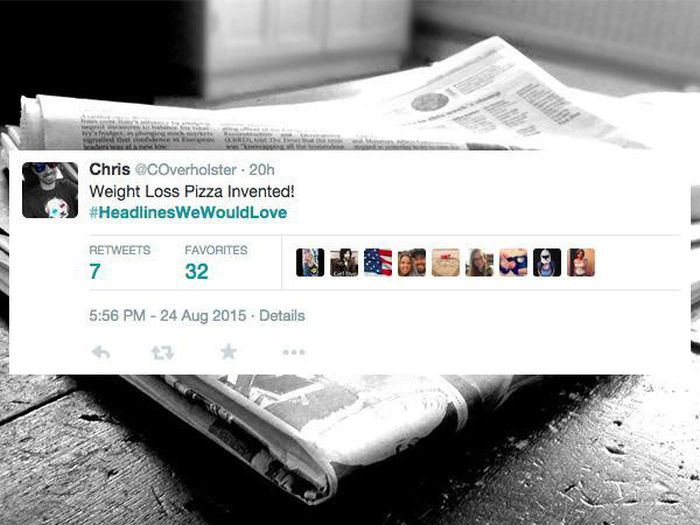 News Headlines We Would All Love To Read (13 pics)
