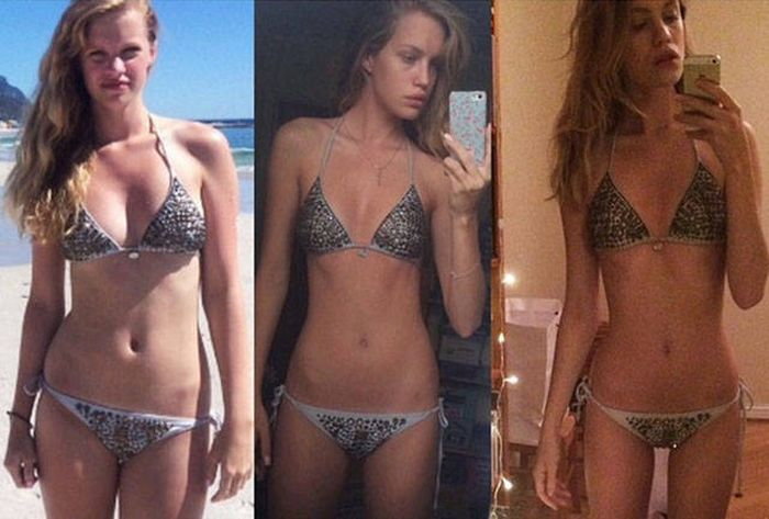 This Drop Dead Gorgeous Girl Was Told She's Too Big To Be A Model (9 pics + 1 video)