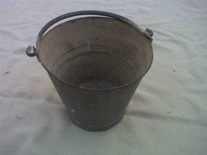 Image result for An Empty Bucket in india superstition