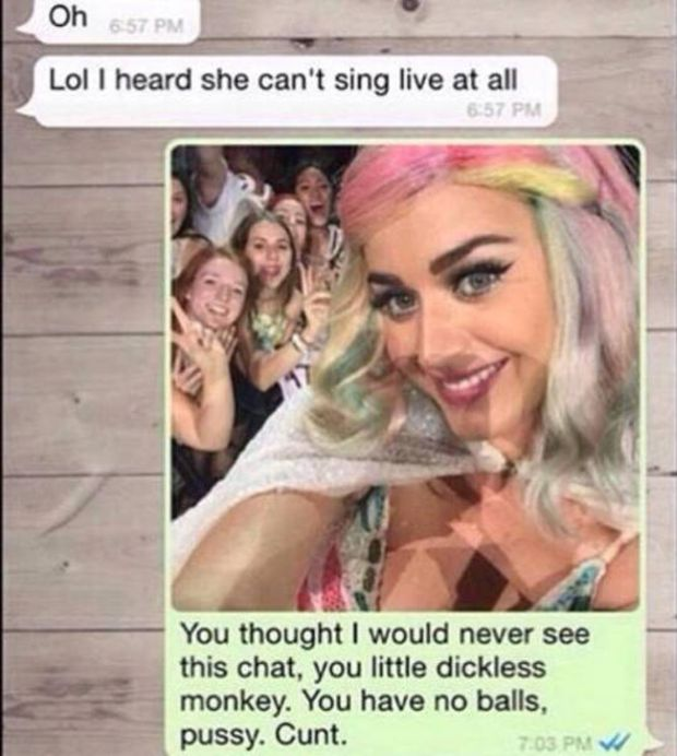 Katy Perry Answers Her Fan's Ex (3 pics)