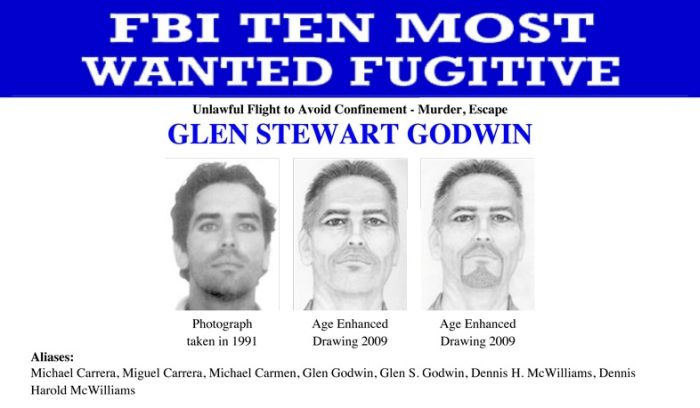 FBI Ten Most Wanted Fugitives (10 pics)