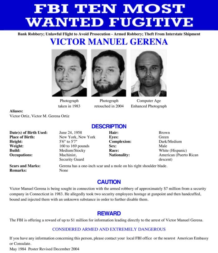 FBI Ten Most Wanted Fugitives (10 pics)