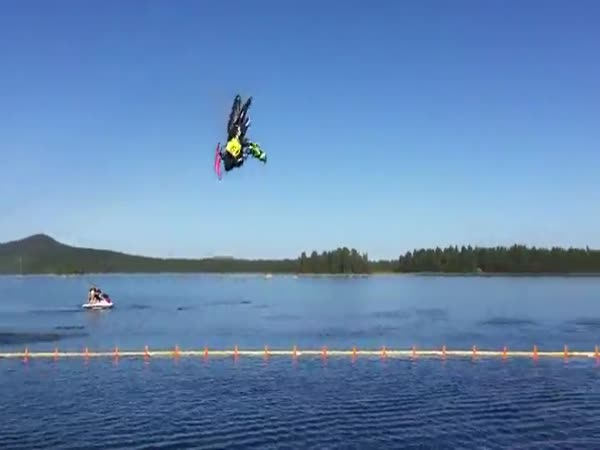 The Ultimate Backflip On Water