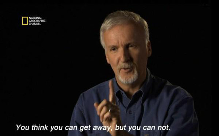 James Cameron: Some Things Are Inescapable (9 pics)