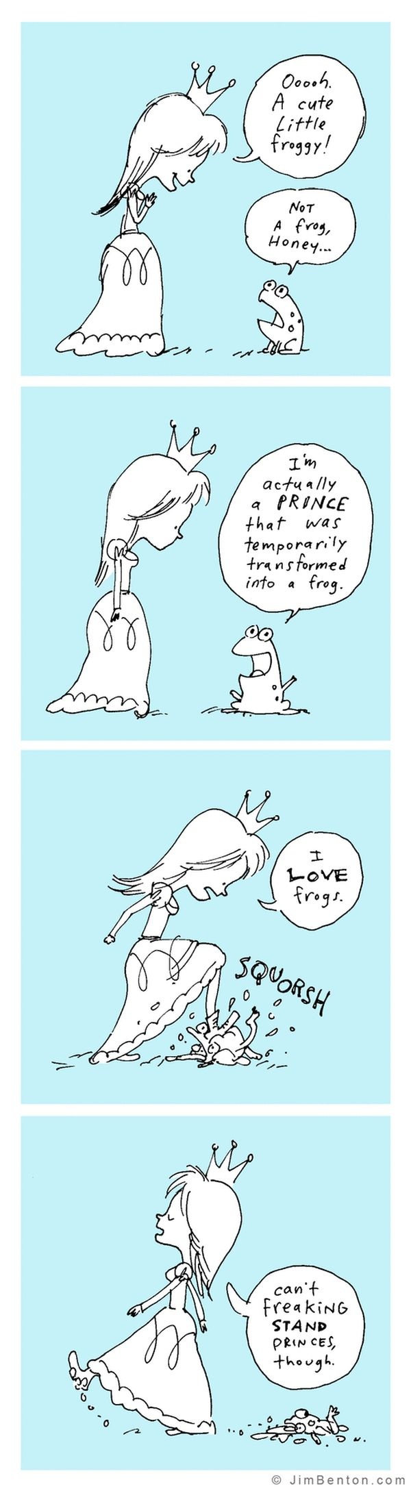 Funny Comics By Jim Benton (35 pics)