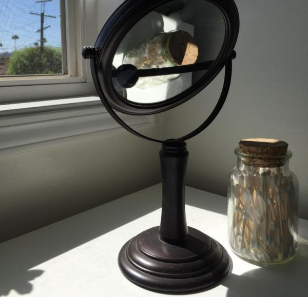 Sun And A Mirror Can Lead To A Disaster (2 pics)