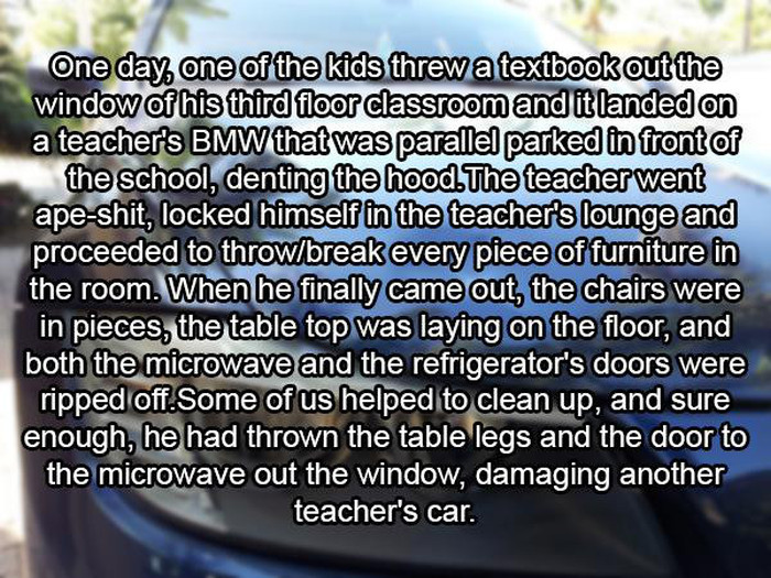 What Actually Happens In The Teacher's Lounge (22 pics)