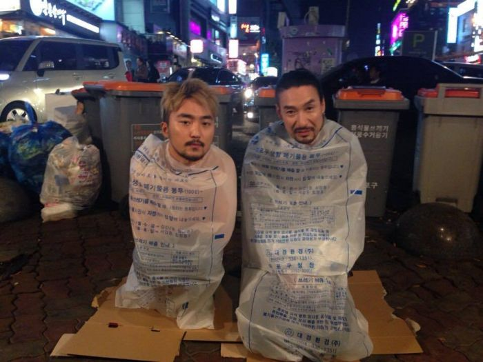 Plastic Bag Photos Is A New Trend In Asia (8 pics)
