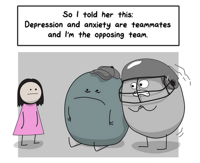 Why Anxiety & Depression Are So Difficult To Fight (16 pics)