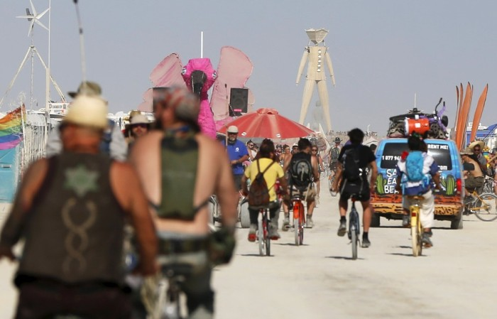 Photos of the Burning Man 2015 (52 pics)
